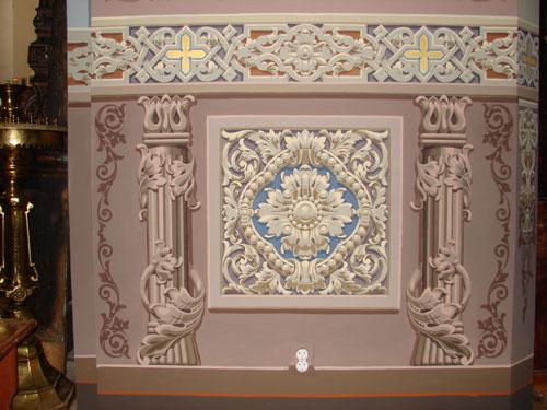 Орнамент в храмовых росписях